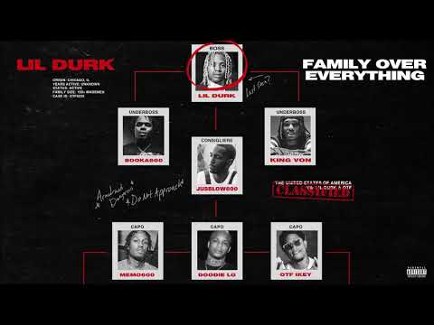 Lil Durk & Only The Family - Fake Love feat. Lil Tjay (Official Audio)