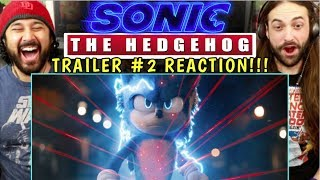SONIC THE HEDGEHOG (2020) - New TRAILER (#2)   REACTION!!!