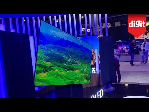 Skyworth 4K, 8K, Rotating TVs from The Skyworth Booth Walkthrough At CES 2020