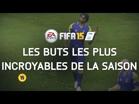 FIFA 15 - Les buts les plus incroyables de la saison - YouTube