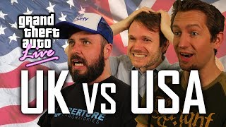 GTA 5 Funny Moments -- Independence Day Livestream: UK vs US with Rockstar Devs!