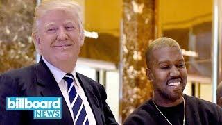 Kanye West to Hot 97's Morning Host Ebro Darden: 'I Love Donald Trump' | Billboard News
