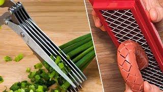 Herb Scissors, Hot Dog Slicer Review- Gadget Test #1