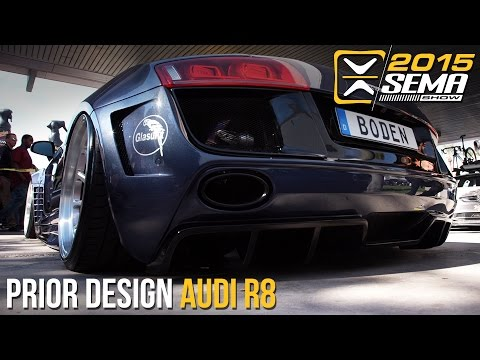 SEMA 2015   Widebody Audi R8   Boden Autohaus