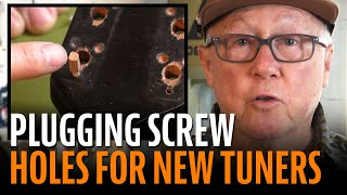 Watch the Trade Secrets Video, How to Upgrade Tuners on a Vintage Mandolin