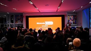 Nintendo Direct 2.13.2019 Live Reactions at Nintendo NY