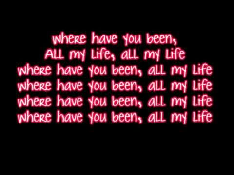 Rihanna - Where Have You Been - Lyrics HD HQ