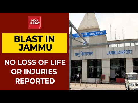 Blast near technical area of Jammu Airport