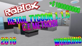 ROBLOX | RETAIL TYCOON 1.1.5 UNLIMITED MONEY! (2016)  (WORKING) (C.E)