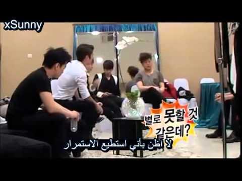 All About SJ DVD Prank Arabic sub ديفيدي سوبر جونيور المقلب مترجم
