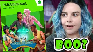 BONEHILDA IS BACK in The Sims 4 Paranormal Stuff…But is it enough?