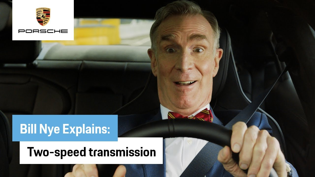 Bill Nye Explains the All-Electric Taycan: Two-Speed Transmission