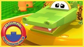 Animal Mechanicals 322 - Mechana Rhino Ring Toss Island | Full Episode HD | Videos For Kids