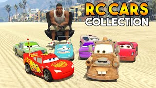 GTA 5 : FINDING AND COLLECTING EPIC RC CARS FROM CARS 3!