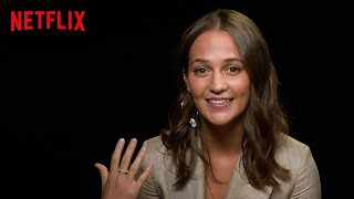 Alicia Vikander On Learning Japanese for Earthquake Bird   Netflix