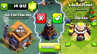 GEMMING THE NEW UPDATE IN CLASH OF CLANS! - UNLOCKING BUILDERS HALL 8 + NEW LEVEL TROOPS!