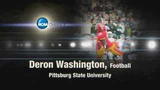 DII SAAC Deron Washington - Pittsburg State University