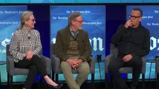 'The Post': Steven Spielberg, Meryl Streep, Tom Hanks talk new movie - FULL PANEL