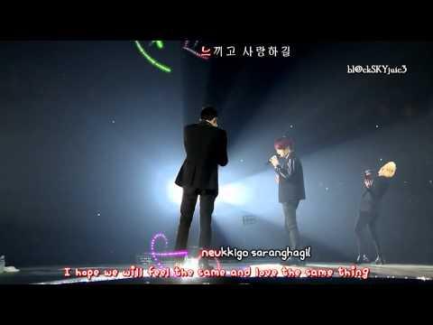 JYJ - Boy's Letter LIVE [hangul / roman / eng sub]
