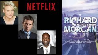 Netflix Altered Carbon Set Visit: Kristin Lehman, James Purefoy, Ato Essandoh Interview
