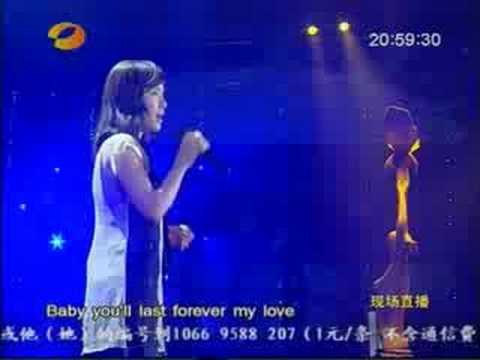 2008.08.29 Golden Eagle Awards - Zhang Li Yin - I Will
