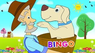 Bingo | Dog Song For Children | Nursery Rhymes & Kids Songs | Bingo - Canción Infantil HooplaKidz