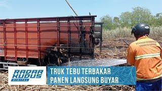 Detik-Detik Damkar Pukul Mundur Truk Dump