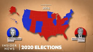 How States Voted In Every Presidential Election, From George Washington To Donald Trump