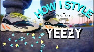 How I Style Adidas Yeezy Boost 700 Wave Runner // CASUAL LOOKBOOK
