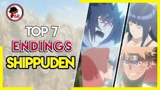 Naruto: Top 7 ENDINGS de Naruto Shippuden