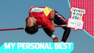 Personal Bests in High Jump & Discus Throw!   My Personal Best Day 8   YOG Buenos Aires 2018