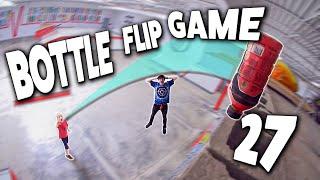 EPIC GAME of BOTTLE FLIP! | Ryan Bracken vs Ryden Schrock | Round 27