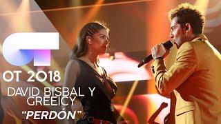 """PERDÓN"" - DAVID BISBAL y GREEICY | GALA 8 | OT 2018"