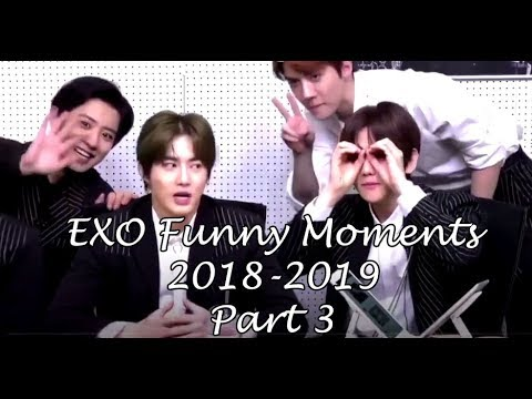 EXO FUNNY MOMENTS 2018 - 2019 PART 3 (7YEARS WITH EXO)