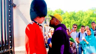 Here's What Happens When You Try Mess With A Royal Guard…