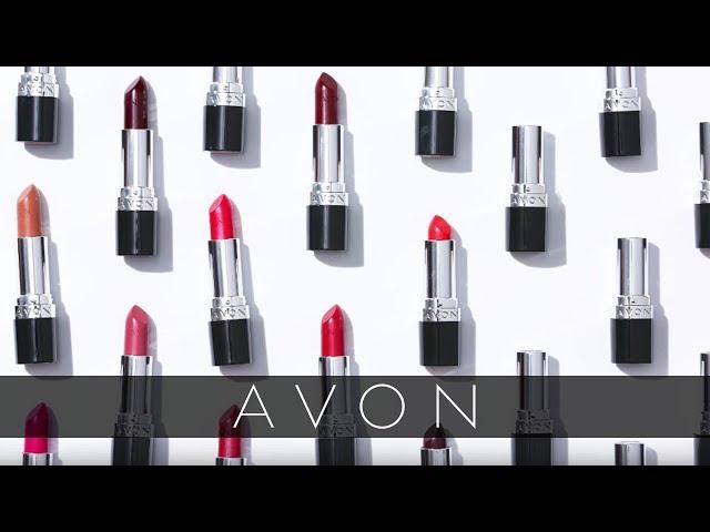 Avon ultra color bold lipstick extreme mauve dress
