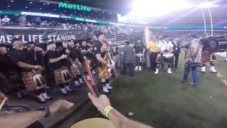 Nassau County Firefighters Pipes & Drums at MetLife Stadium