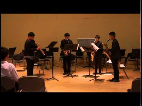 March of the Sugar Ants by Andy Firth [June Saxophone Quartet]