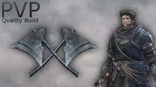 Dark Souls 3 - Winged Knight Twinaxes PvP