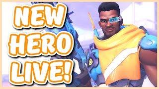 Overwatch - NEW HERO BAPTISTE GAMEPLAY (New DPS Healer!)