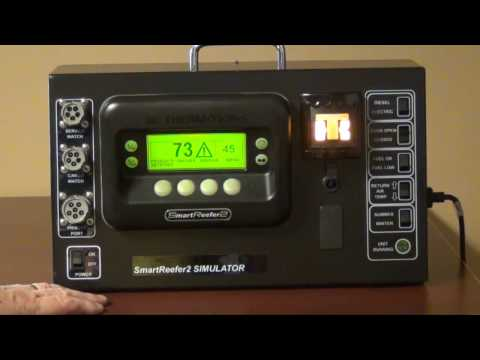Control Panel - Thermo King SB-230 Reefer Orientation Video
