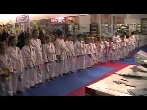 Экзамен по каратэ 3 ноября 2013 года в клубе Тигренок.ч.6