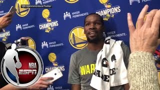 Kevin Durant on Rockets' Clint Capela: You shouldn't talk when your job is so easy | NBA