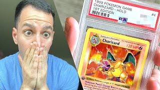Grading My Lost $55,000 Charizard Pokémon Card