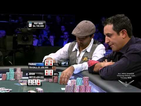Repeat youtube video Sensational FINAL TABLE World Poker Tour 5 Diamons.High class Poker.