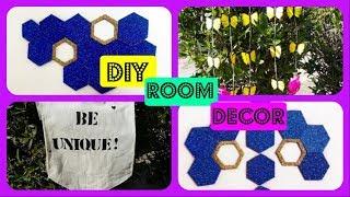 DIY room decor 2019! easy and affordable pinterest inspired diys //Aiesha shaik