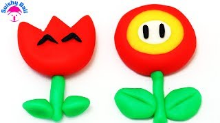 Play Doh Super Mario Fire Flower Power
