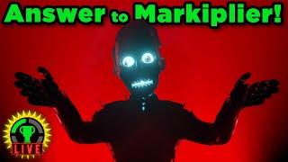 MatPat Interviewed by Markiplier Animatronic! (Warfstache Automated Interview Automaton Reaction)