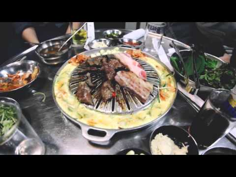 Seoul Barbeque, Pub and Market Tour 2015