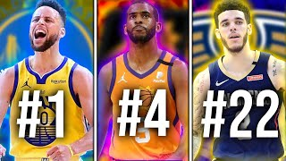 Ranking the Greatest Point Guard From EVERY NBA Team (2021)